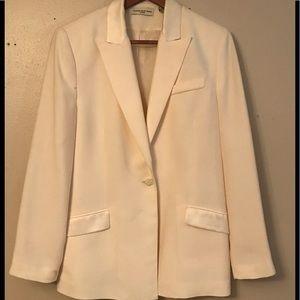 Cream lightly worn Amanda Smith blazer sz 12P